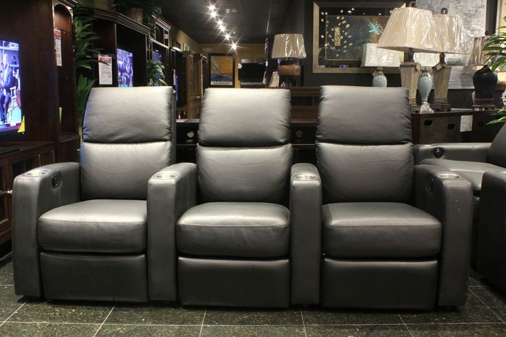 images of living rooms with leather furniture wall art decor for room sleek charcoal grey theater seating. | houston, tx ...