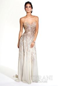 Blinged Out Prom Dresses | ... blinged out ruffled prom ...