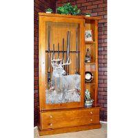 Display Gun Cabinet Woodworking Plans - WoodWorking ...