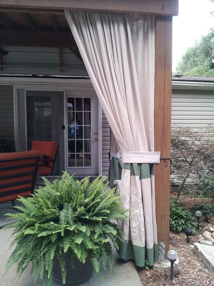 lowes camping chairs lift recliner chair 30 best outdoor curtains images on pinterest | lowes, canvases and home depot