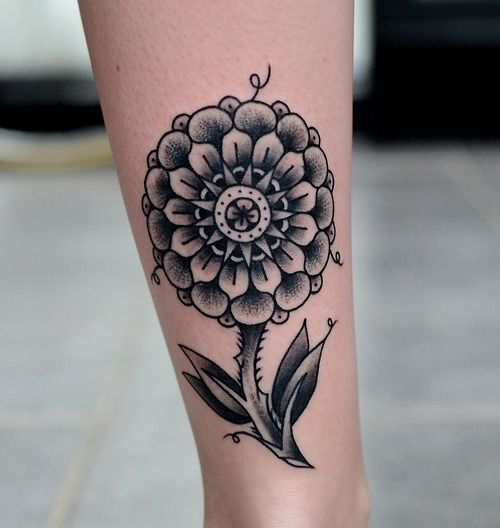 Cool Mandala Flower #tattoo #tattoos #ink  Tattoos = Art