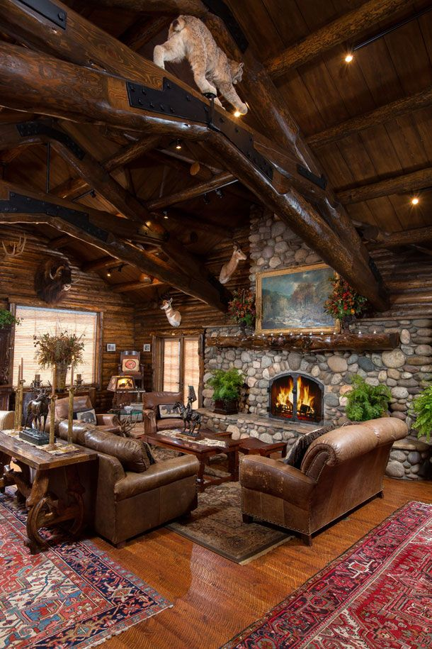25 best ideas about Log cabin furniture on Pinterest  Beauty cabin Log bed frame and Log