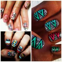 16 best images about ...African inspired nail art! on ...