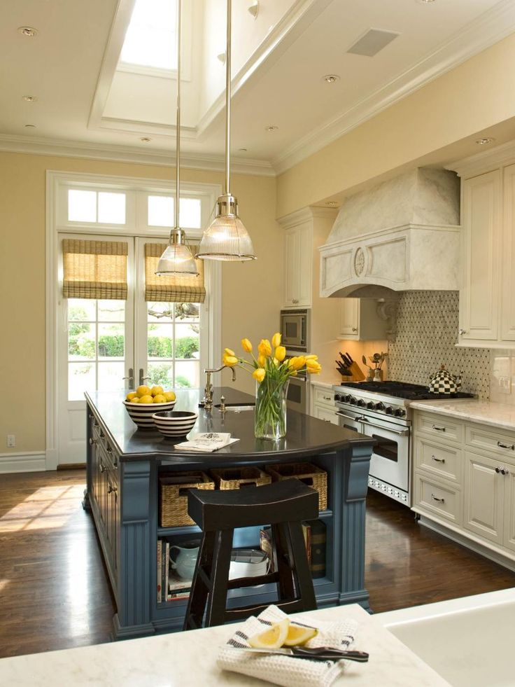 french country kitchen island tables this warm gets lots of light from ...