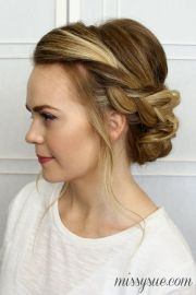 1000 ideas braided updo