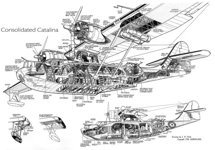 133 best images about CUTAWAYS OF PLANES I LIKE on Pinterest