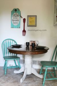 painted kitchen tables and chairs ideas  Roselawnlutheran