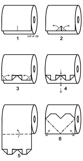 1000+ ideas about Toilet Paper Origami on Pinterest