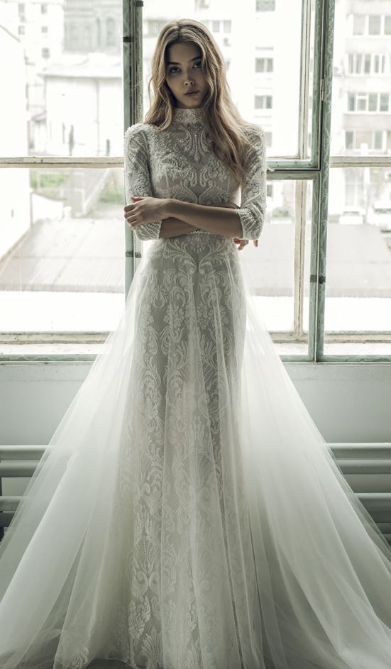 17 Best Ideas About Embroidered Wedding Dresses On