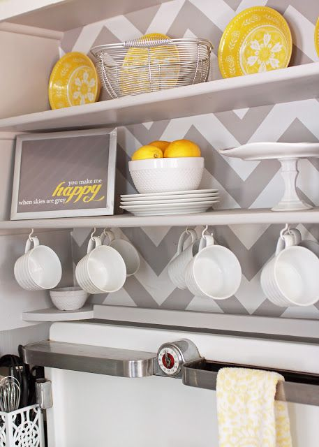 25 Best Ideas About Grey Yellow Kitchen On Pinterest
