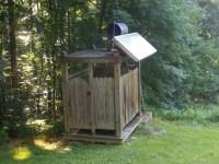 solar shower | Rustic Outdoor Bath/Shower Ideas ...