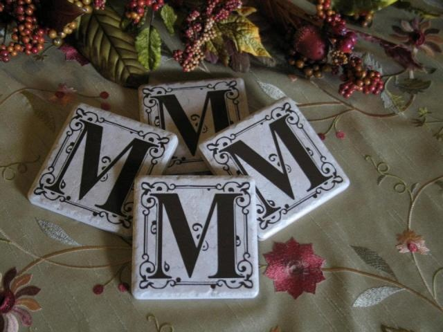 Personalized Tile Coasters 4x4 Silhouette Cameo Ideas Pinterest 4x4 Personalized And X