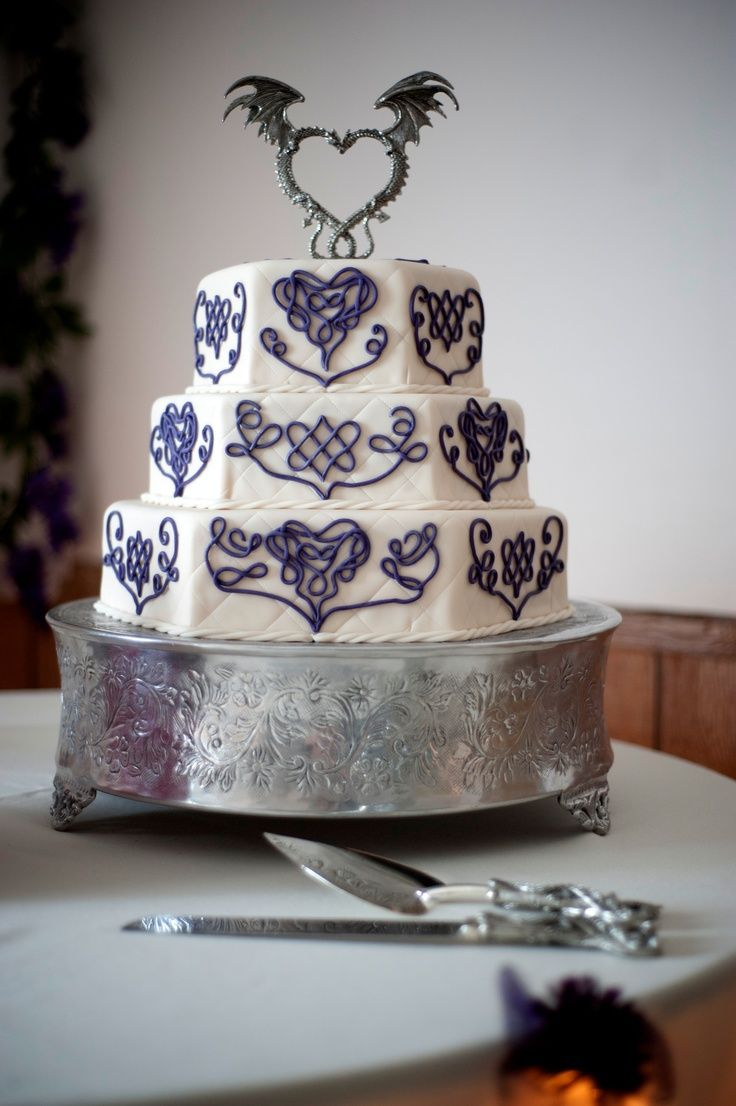 17 Best images about Celtic wedding cakes I love