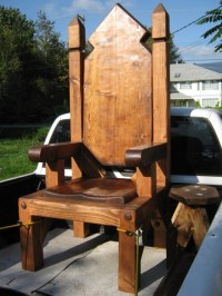 Throne chair | Fairy Tale/Medieval | Pinterest | Chairs ...