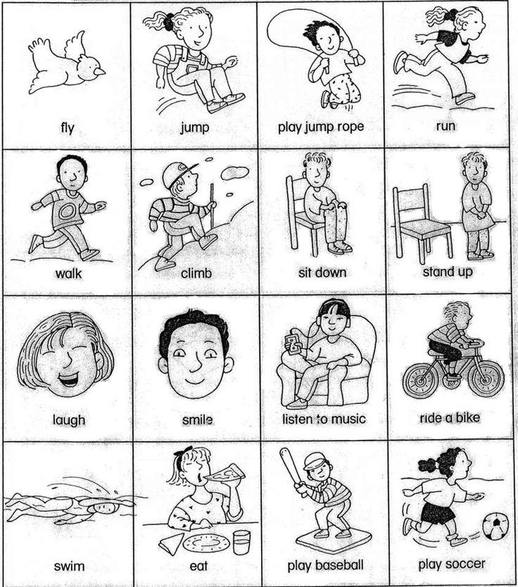186 best images about verbs lists regular / irregular on