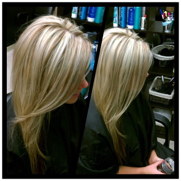 Blonde Highlights With Caramel Lowlights Hair