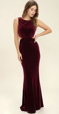 25+ best ideas about Burgundy Maxi Dress on Pinterest ...