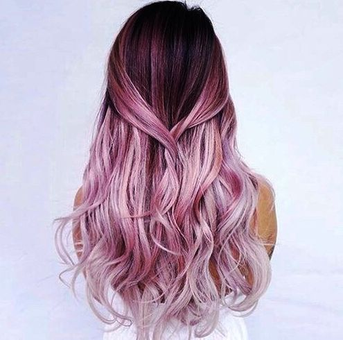 25 Best Ideas About Rose Pink Hair On Pinterest Rose Hair Rose