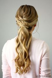 ideas formal ponytail