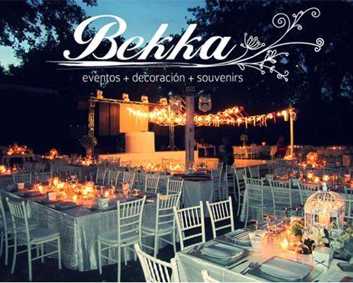 BEKKA Diseo y Coordinacin de eventos boda campirana