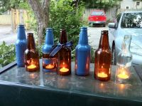 Beer bottle decoration ideas/prototypes. | Price Geiss ...