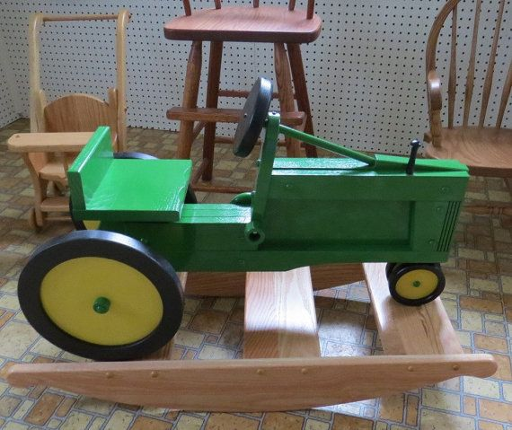rocking chair woodworking plans and half with ottoman wooden tractor - projects &