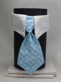 Light Blue Fish Bones Business Cat Tie and Collar | Cat ...