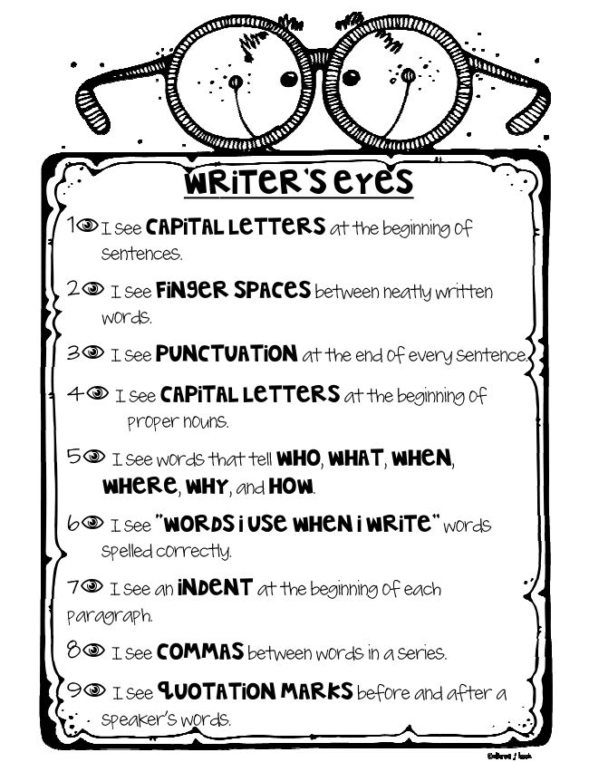 25+ best ideas about Writing checklist on Pinterest