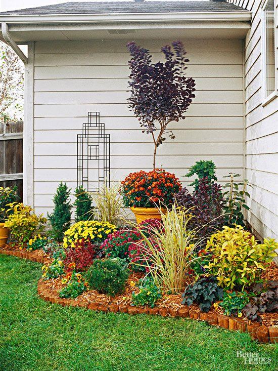 Best 25 Corner Garden Ideas On Pinterest Garden Design