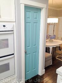 25+ best ideas about Painted pantry doors on Pinterest