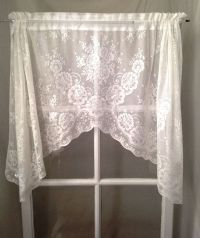 17 Best ideas about White Lace Curtains on Pinterest ...