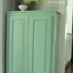 Kitchen Cabinets Wood Small Appliance Valspar Tranquil Bay Paint | Diy Tranquility Colouring ...