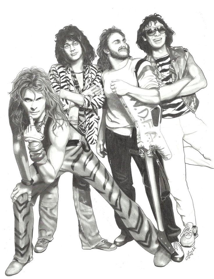 Little Guitars Van Halen Largo