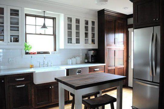 The quotForeclosure No Morequot Kitchen Makeover White