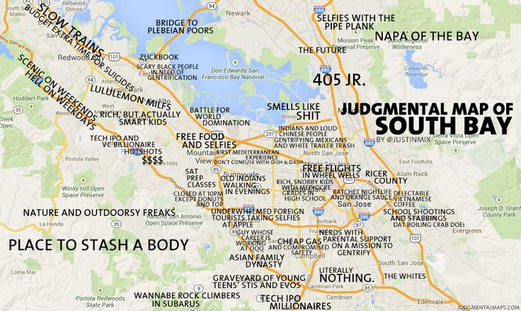 Judgemental Map Denver