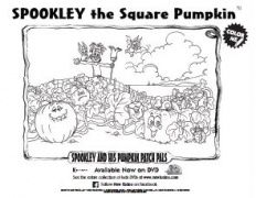 Kid printables, Pumpkin coloring sheet and Halloween
