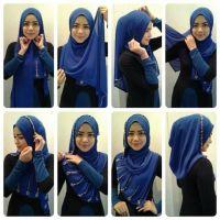 1000+ ideas about Tudung Shawl on Pinterest | Hijab styles ...