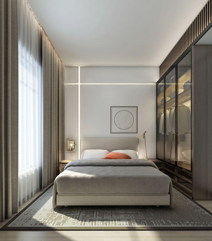 25 Best Ideas About Small Modern Bedroom On Pinterest Modern