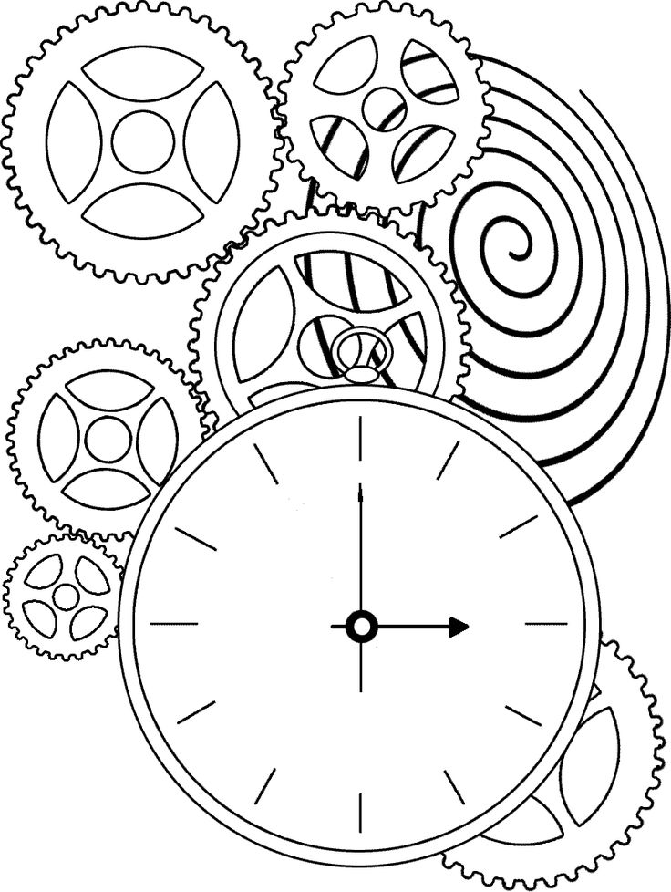 1000+ images about GEAR COLORING PAGES on Pinterest