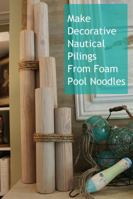 decorative nautical pilings
