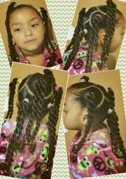 mixed natural black girls kids