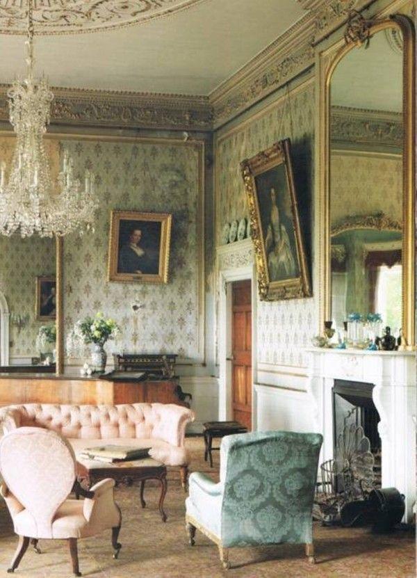 Victorian interior design  Victorian and Edwardian Home Interiors  Pinterest  Victorian interiors Victorian house interiors and House