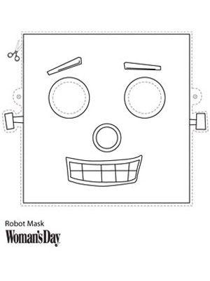 Masks, Robots and Face masks on Pinterest