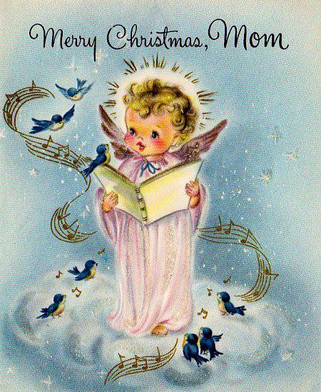 Art Merry Christmas Mommy