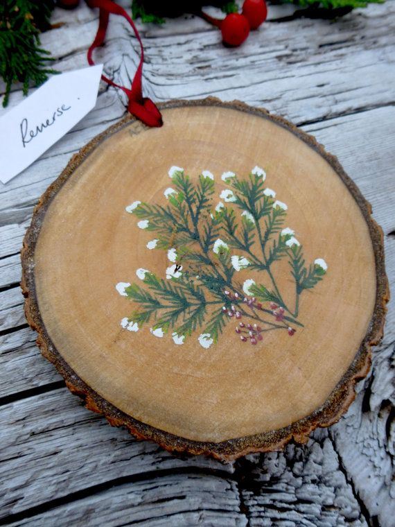 1000 Images About Wooden Disc Ornaments On Pinterest