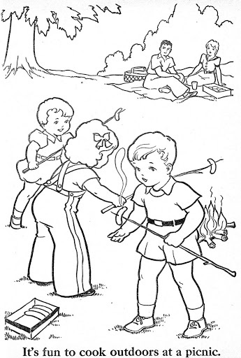 17 Best images about VINTAGE COLORING BOOKS on Pinterest