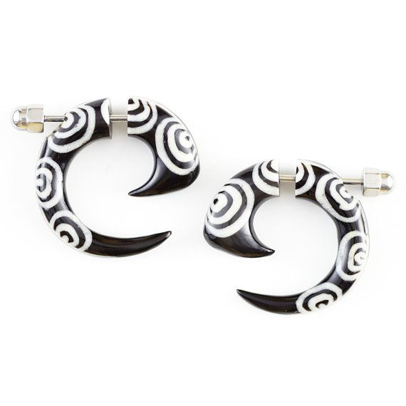 17 Best images about Fake Gauge Earrings on Pinterest