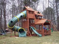 kids outdoor playsets plans | Big Backyard Lexington Wood ...