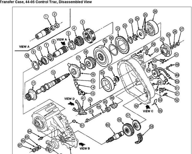 Service manual [1999 Ford Escort Transfer Case Repair