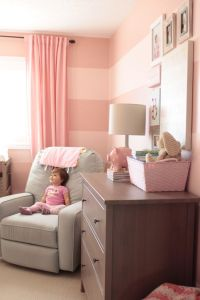 25+ best ideas about Pink striped walls on Pinterest ...
